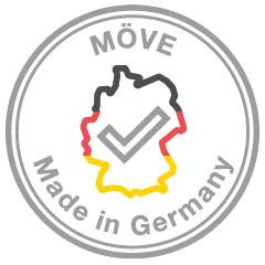 Möve Qualitätsmerkmale: Made in Germany