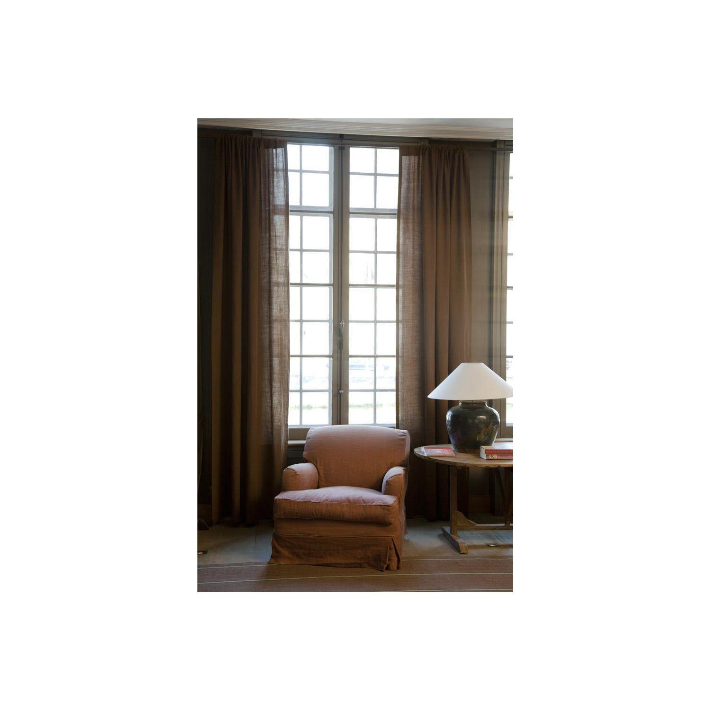 leinenvorh nge natur m belideen. Black Bedroom Furniture Sets. Home Design Ideas