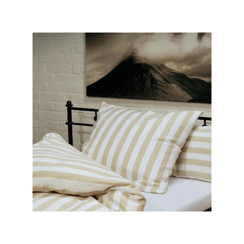 traumflachs grande kissenbezug wei natur 40x40 cm. Black Bedroom Furniture Sets. Home Design Ideas