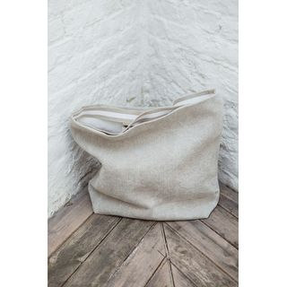 Charly Leinen Handtasche 40x50x15 cm - Libeco Home